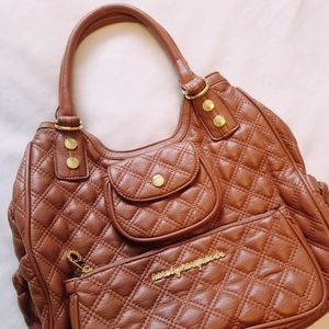 Marc by Marc Jacobs Quilted Cognac Purse